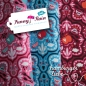 Preview: Funny Rain-Cord Babycord corduroy red 50 cm
