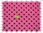 Preview: Girls Daisies-Cord Babycord corduroy pink Hamburger Liebe 50 cm