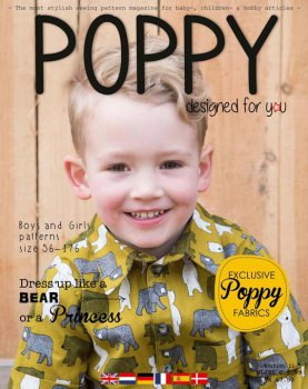 Poppy magazine Patterns editon 11 autum 2018 Kids fashion