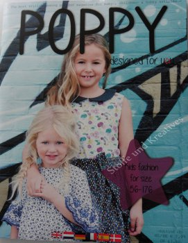 Poppy magazine Patterns editon 10 summer 2018 Kids fashion