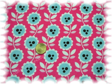 Lovely Flowers-Cord Babycord pink Hamburger Liebe