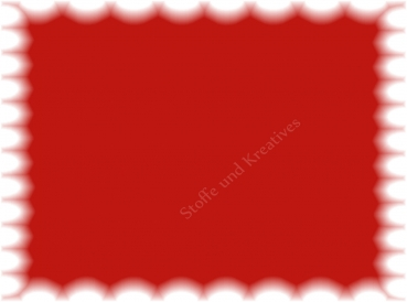 Cotton de luxe cotton unicoloured red 50 cm