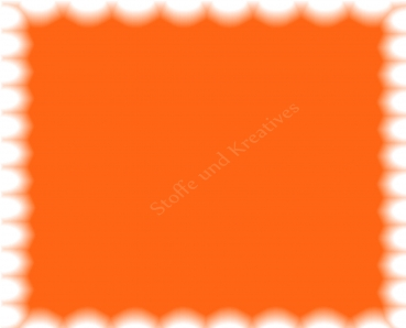 Cotton de Luxe Baumwolle Popeline orange