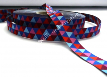 Fly Mini Hex trim red, royal blue