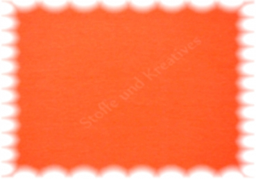 Stretch-Jersey uni einfarbig orange