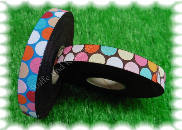 Happy Polka Dots trim brown Hamburger Liebe