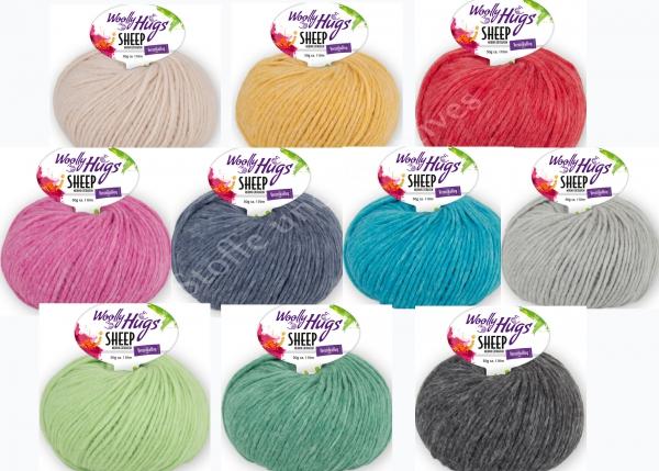 Woolly Hugs Sheep Merino extrafein 50g Farbe 98 €11,90//100g