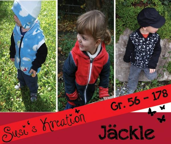 EBOOK Jäckle Kinderschnitt Jacke Schnittmuster zum Download - Stoffe ...