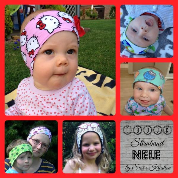 EBOOK Stirnband Nele Kinderschnitt Schnittmuster zum Download ...