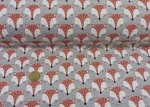 Melange Sweat Fox grey fabric for children by Hilco