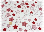 Shirt Stars Elastic-Jersey white red