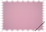 Vichy Karo  check cotton print pink, white